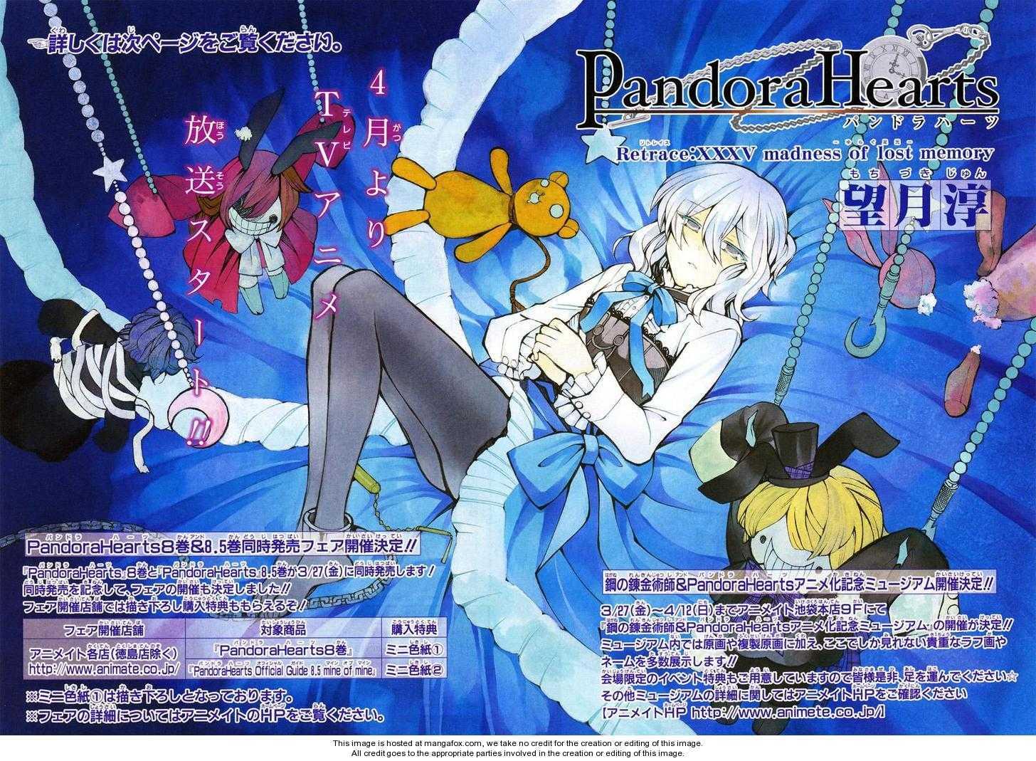 Pandora Hearts 35 Page 2