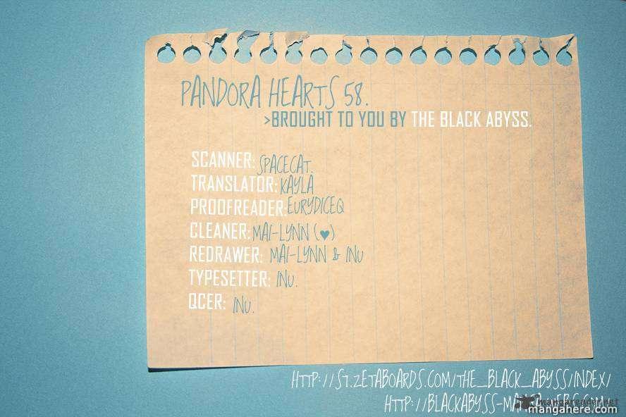 Pandora Hearts 58 Page 1