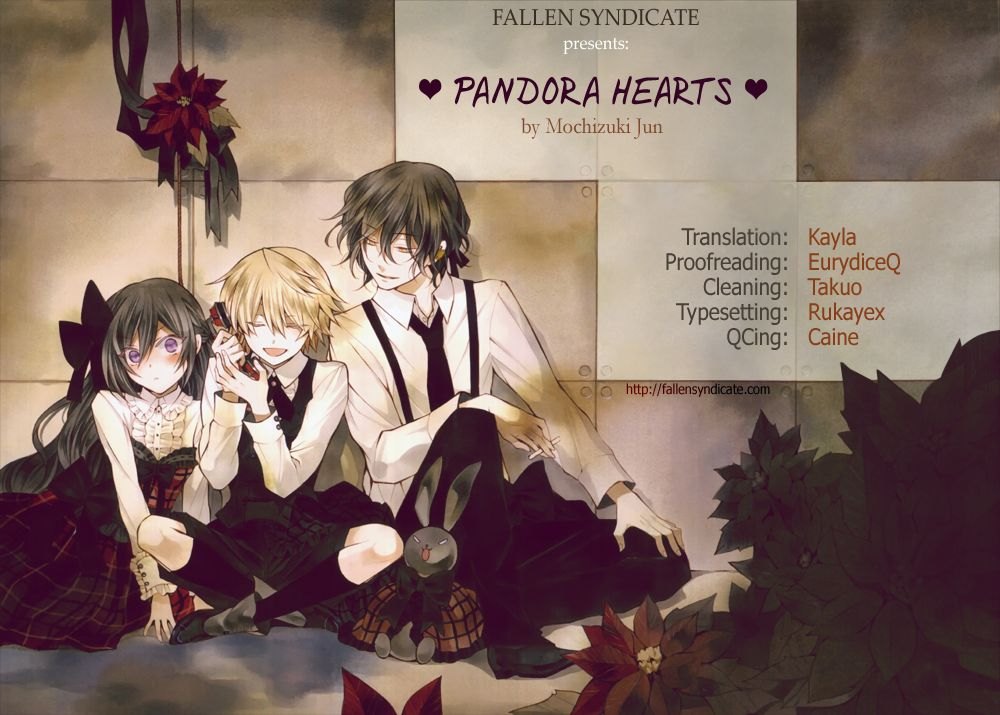 Pandora Hearts 85.5 Page 1