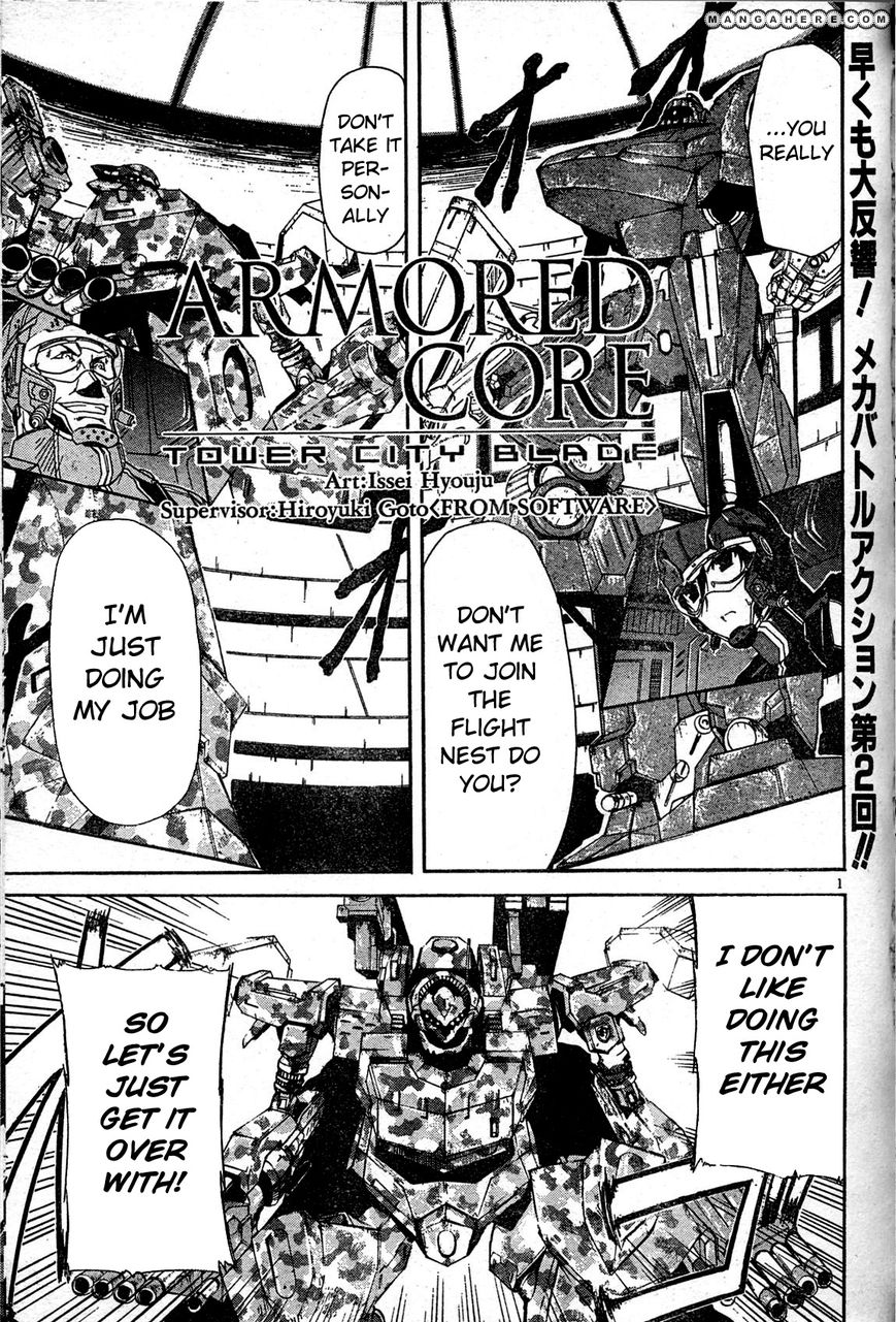 Armored Core - Tower City Blade 2 Page 2