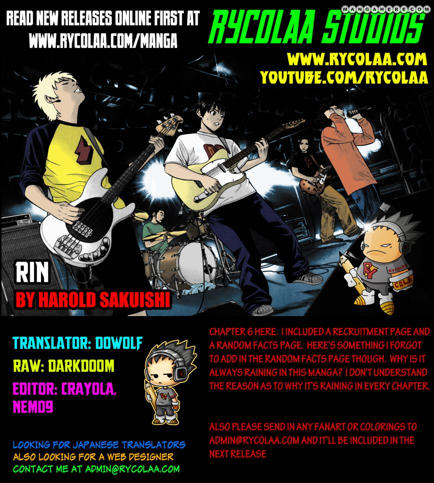 Rin (HAROLD Sakuishi) 6 Page 1