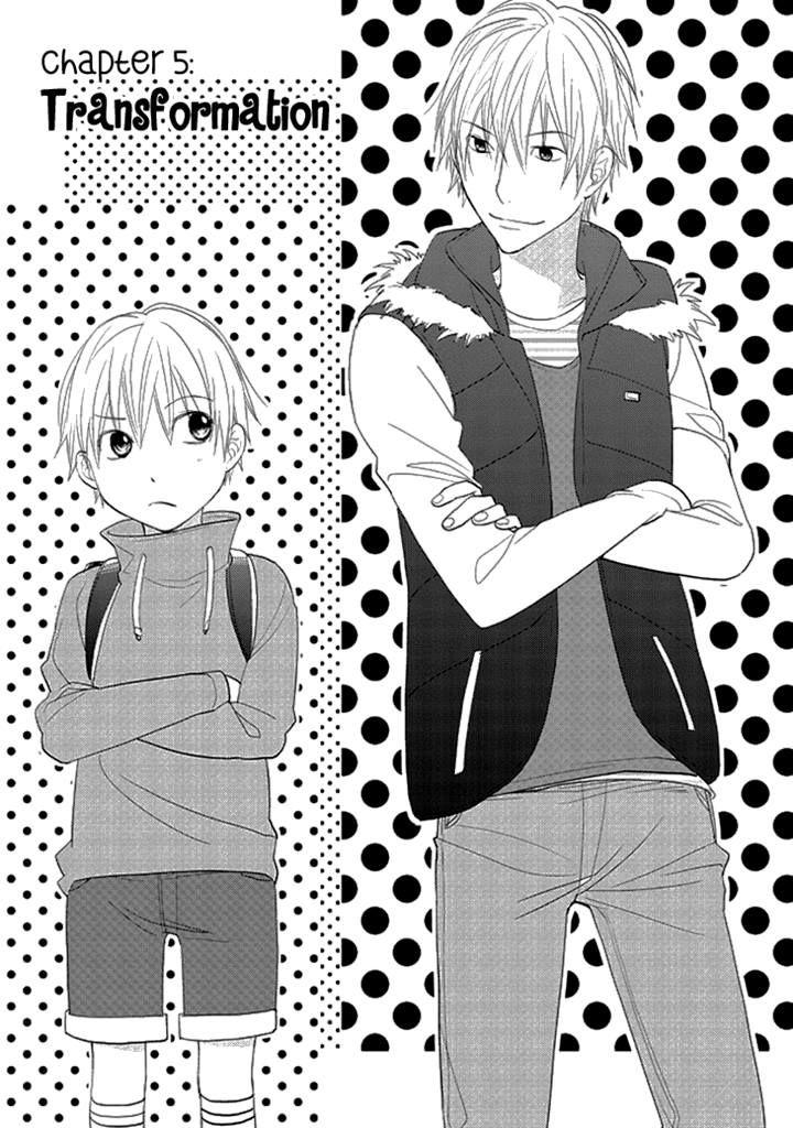 Kimi no Sei - Kizuato 5 Page 1