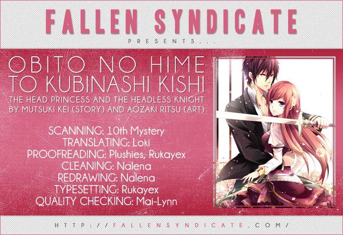 Obito no Hime to Kubinashi Kishi 3 Page 1