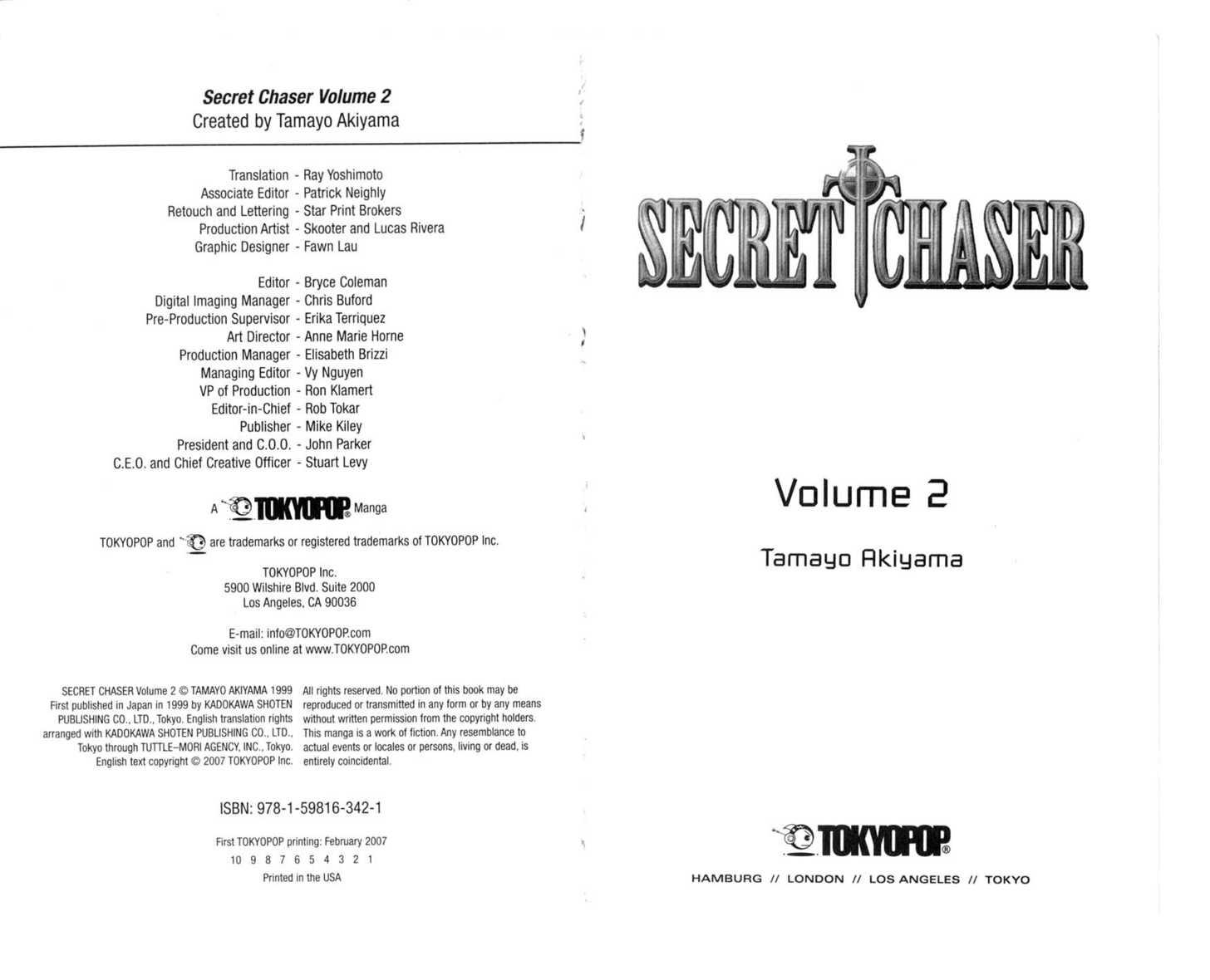 Secret Chaser 1 Page 2