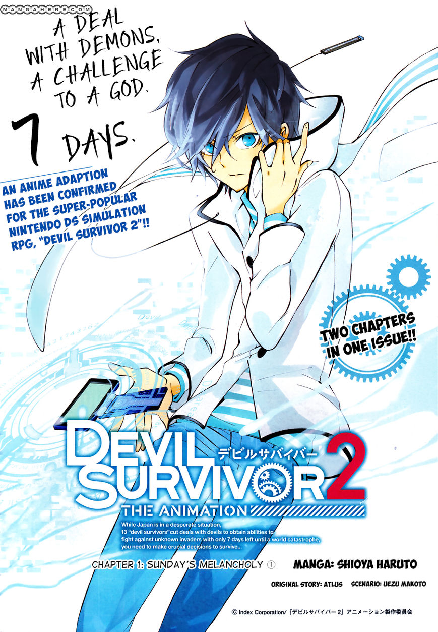 Devil Survivor 2 - The Animation 1 Page 2