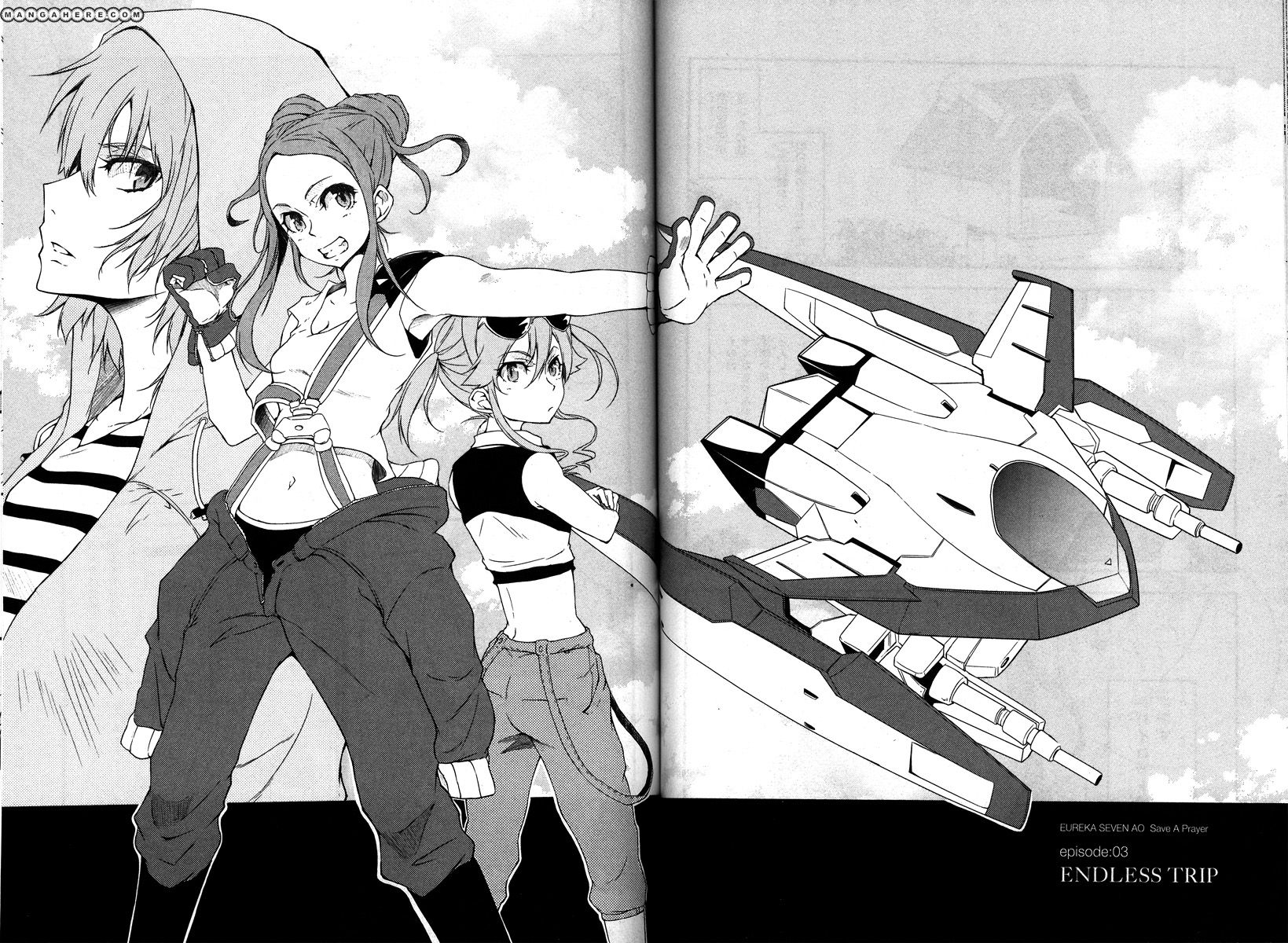 Eureka Seven AO - Save a Prayer 3 Page 2