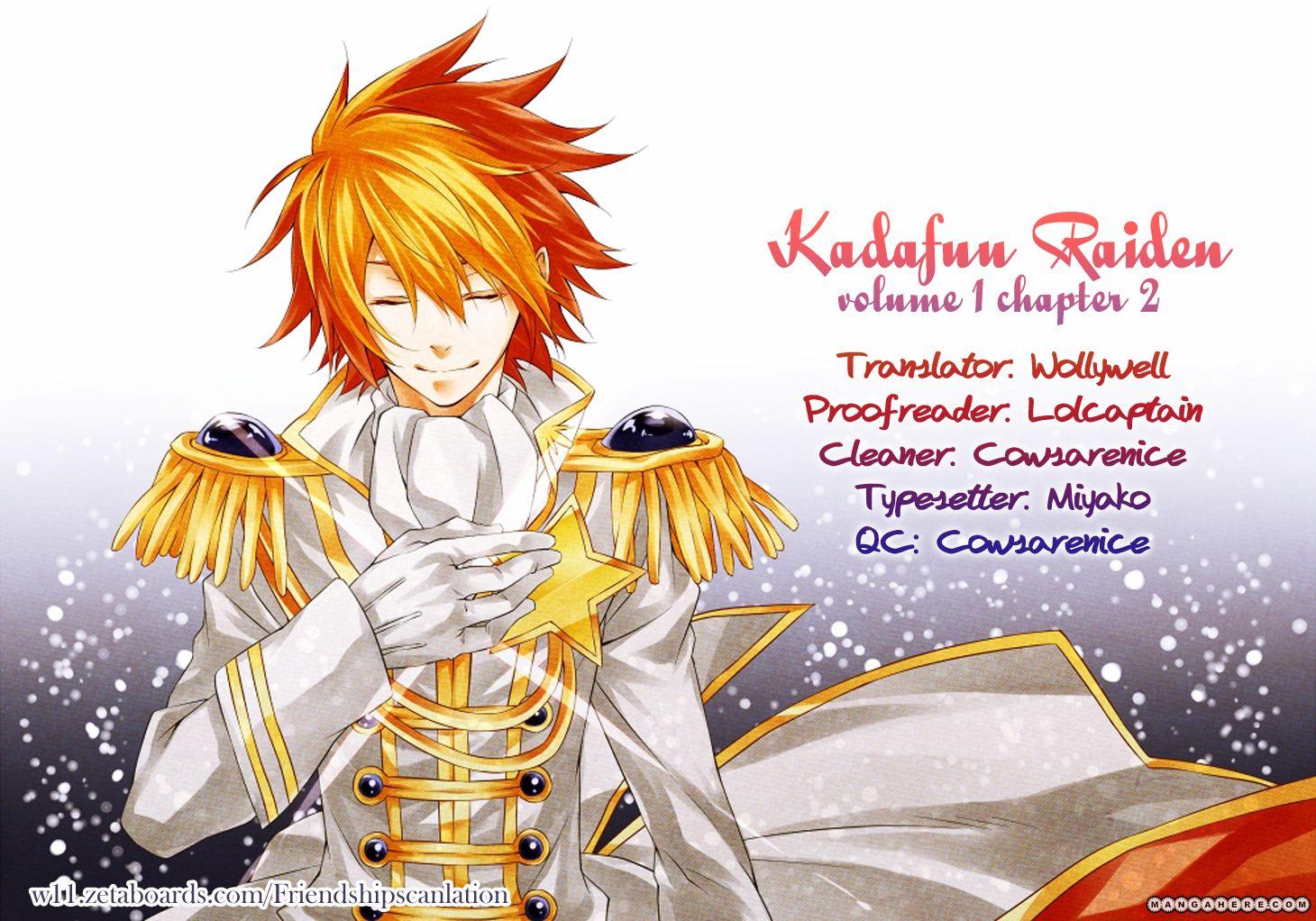 Kadafuu Raiden 2 Page 1