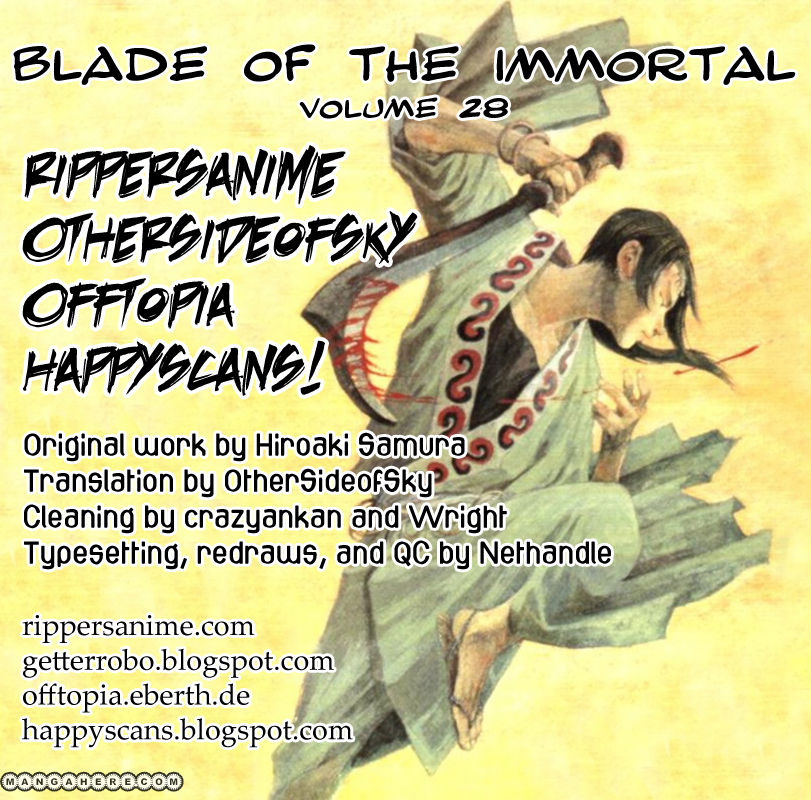 Blade of the Immortal 188 Page 1
