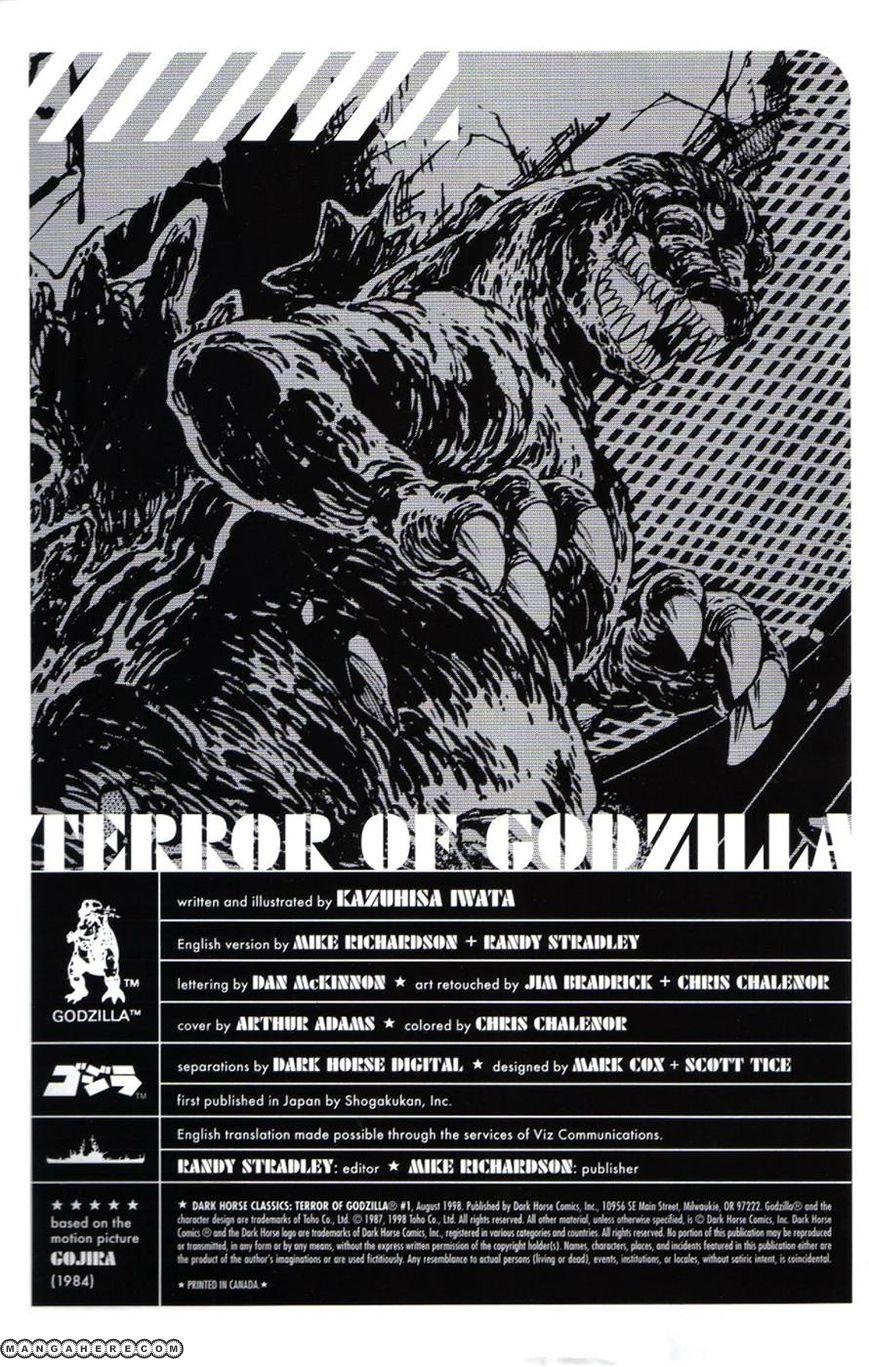 Godzilla 2 Page 1