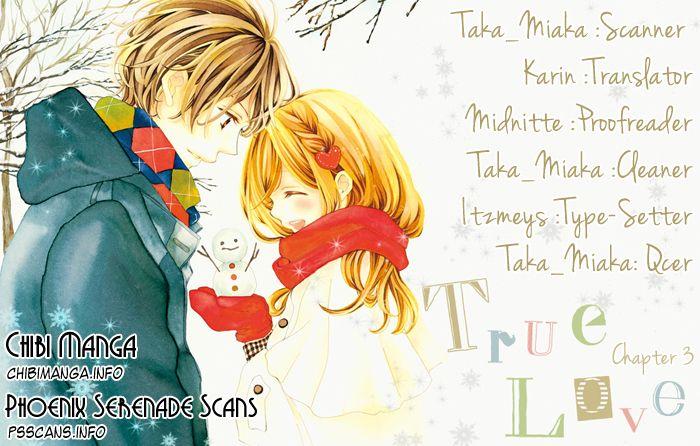 True Love (SUGIYAMA Miwako) 3 Page 1
