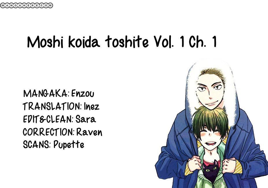 Moshi Koi da toshite - Sayonara, Itoshi no My Friend 1 Page 1