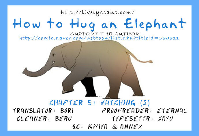 How to Hug an Elephant 5 Page 1