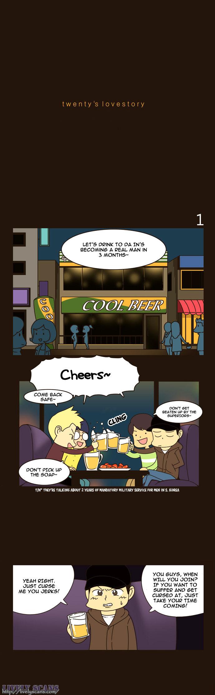 Twenty's Lovestory 1 Page 2