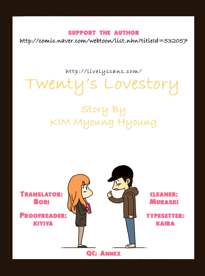Twenty's Lovestory 2 Page 1