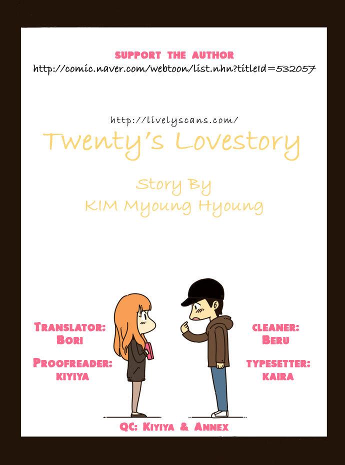 Twenty's Lovestory 4 Page 1