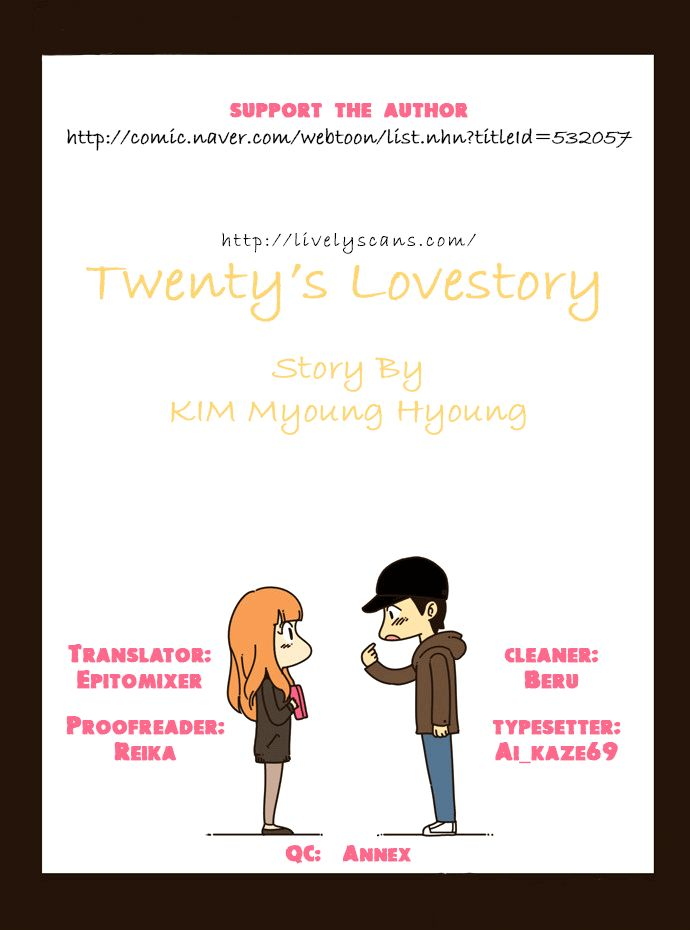 Twenty's Lovestory 6 Page 1