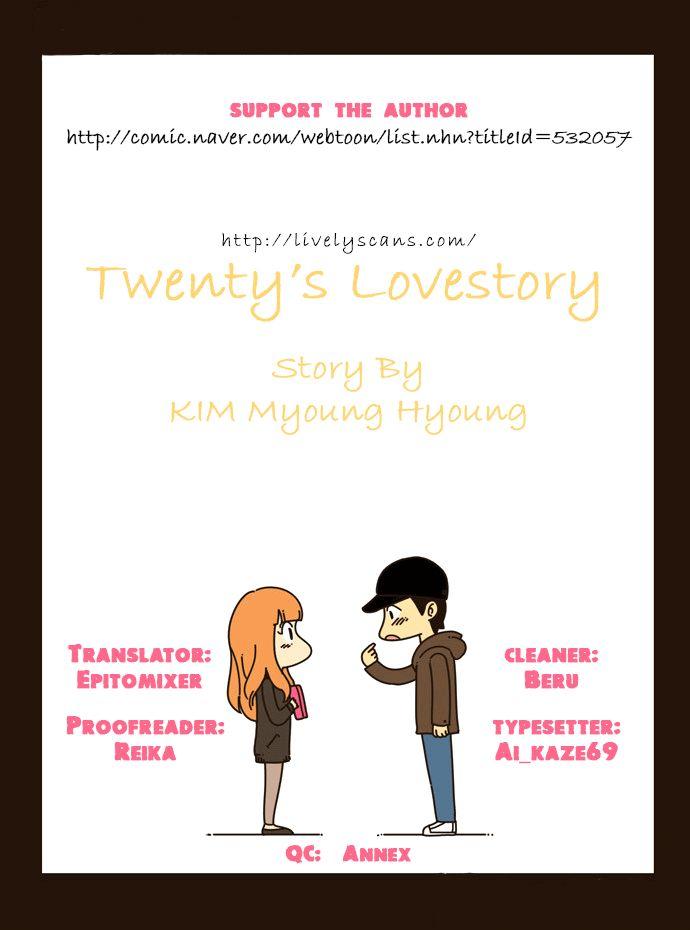 Twenty's Lovestory 9 Page 1