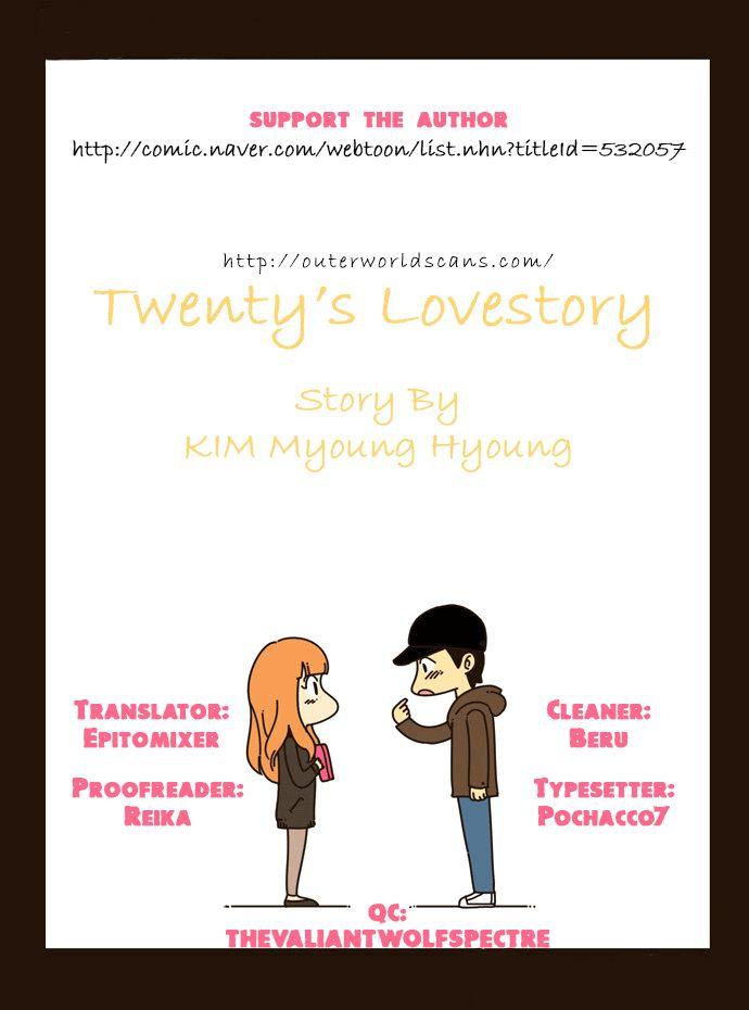 Twenty's Lovestory 16 Page 1