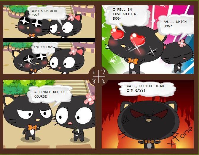 Hey, Li Cat 1 Page 1