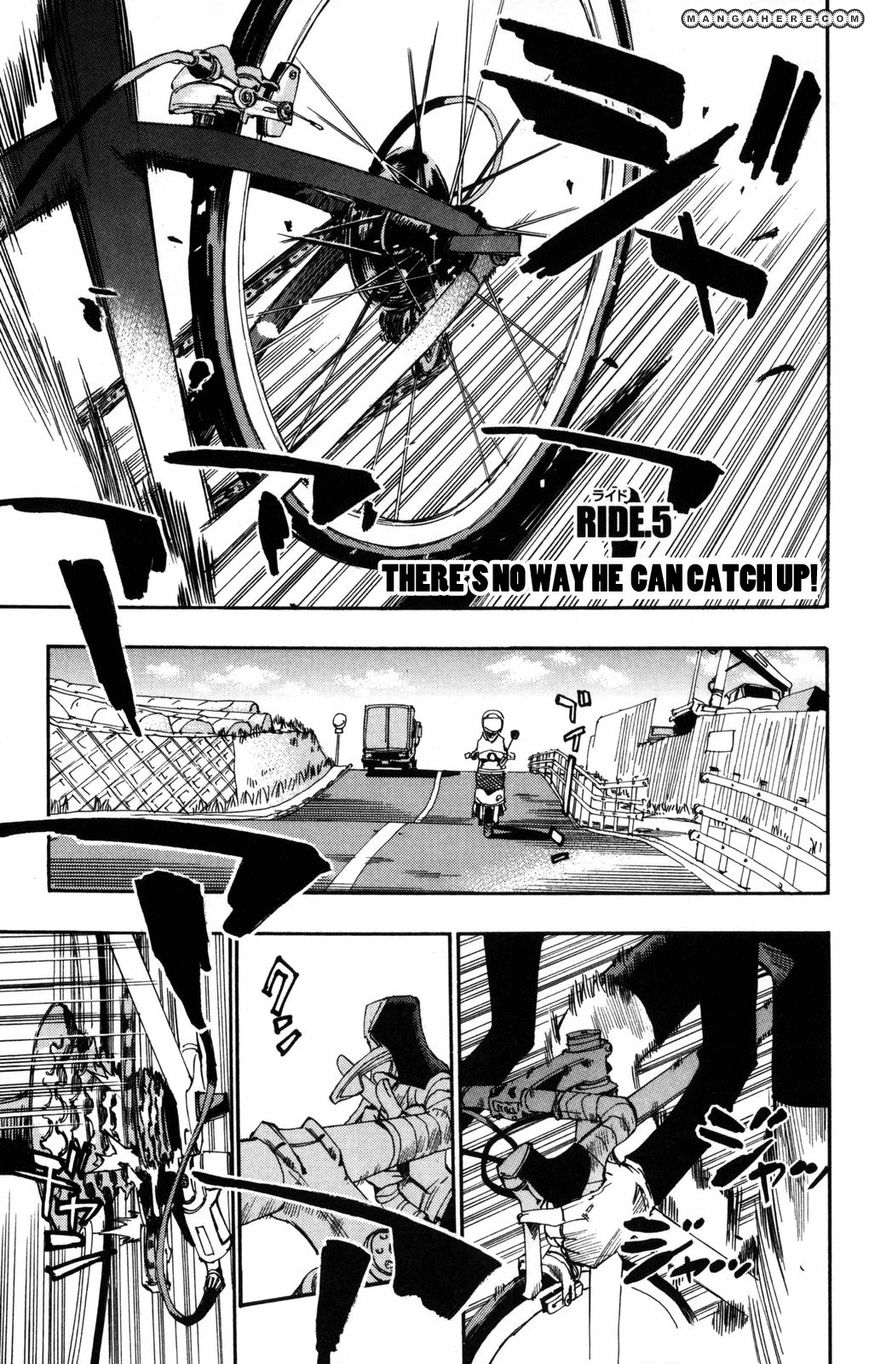 Yowamushi Pedal 5 Page 1
