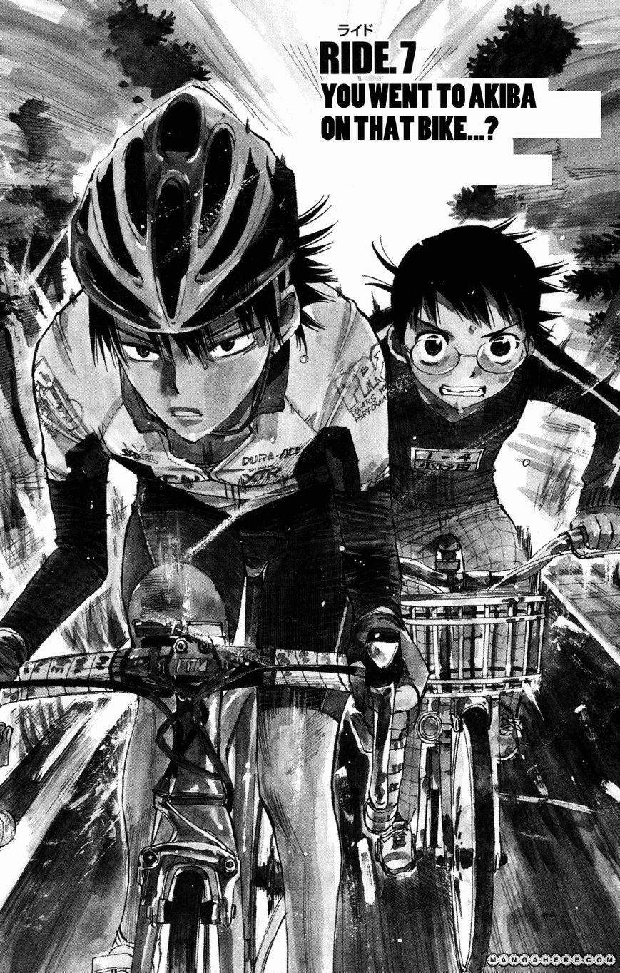 Yowamushi Pedal 7 Page 1