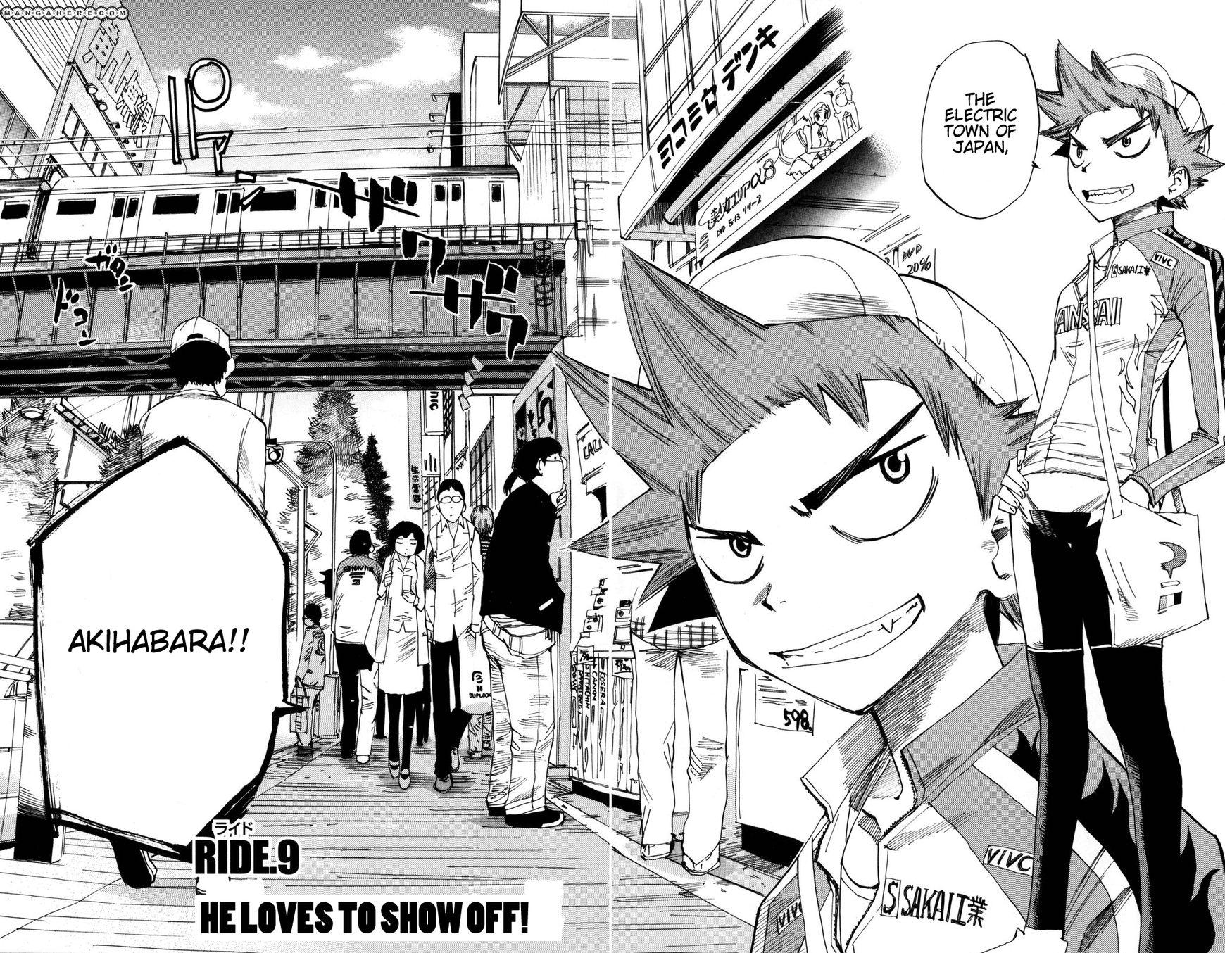 Yowamushi Pedal 9 Page 2