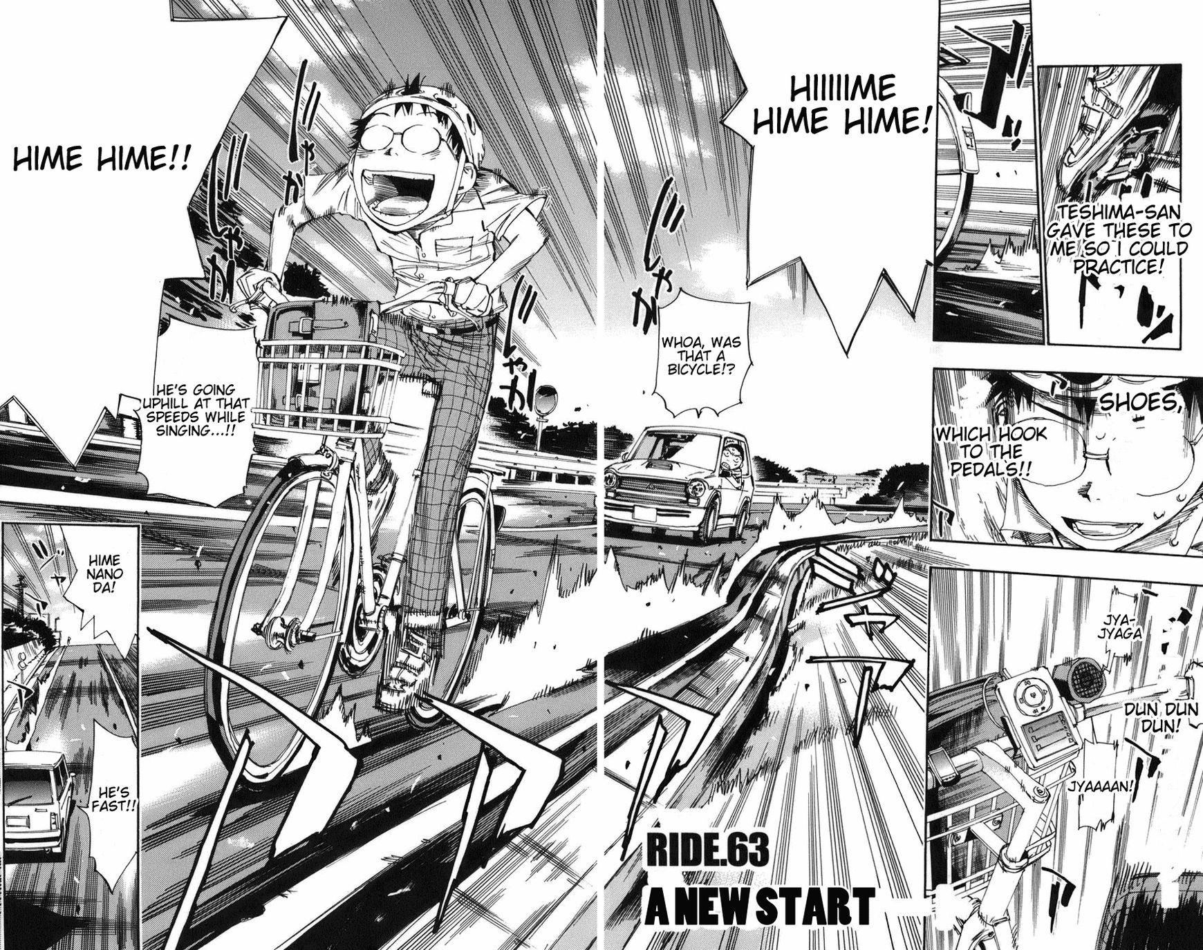 Yowamushi Pedal 63 Page 2