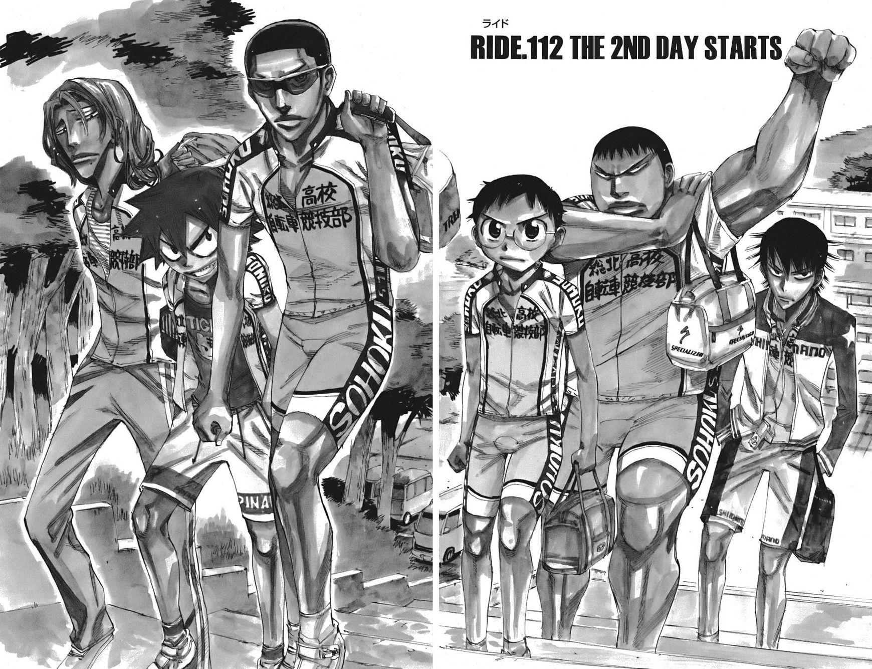 Yowamushi Pedal 112 Page 2