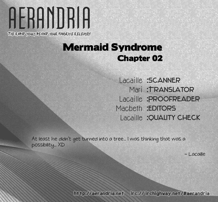 Mermaid Syndrome 2 Page 2