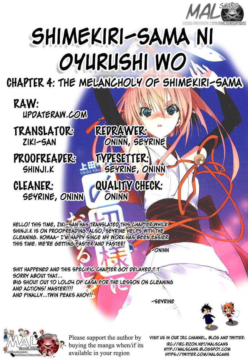 Shimekirisama ni Oyurushi o 4 Page 1