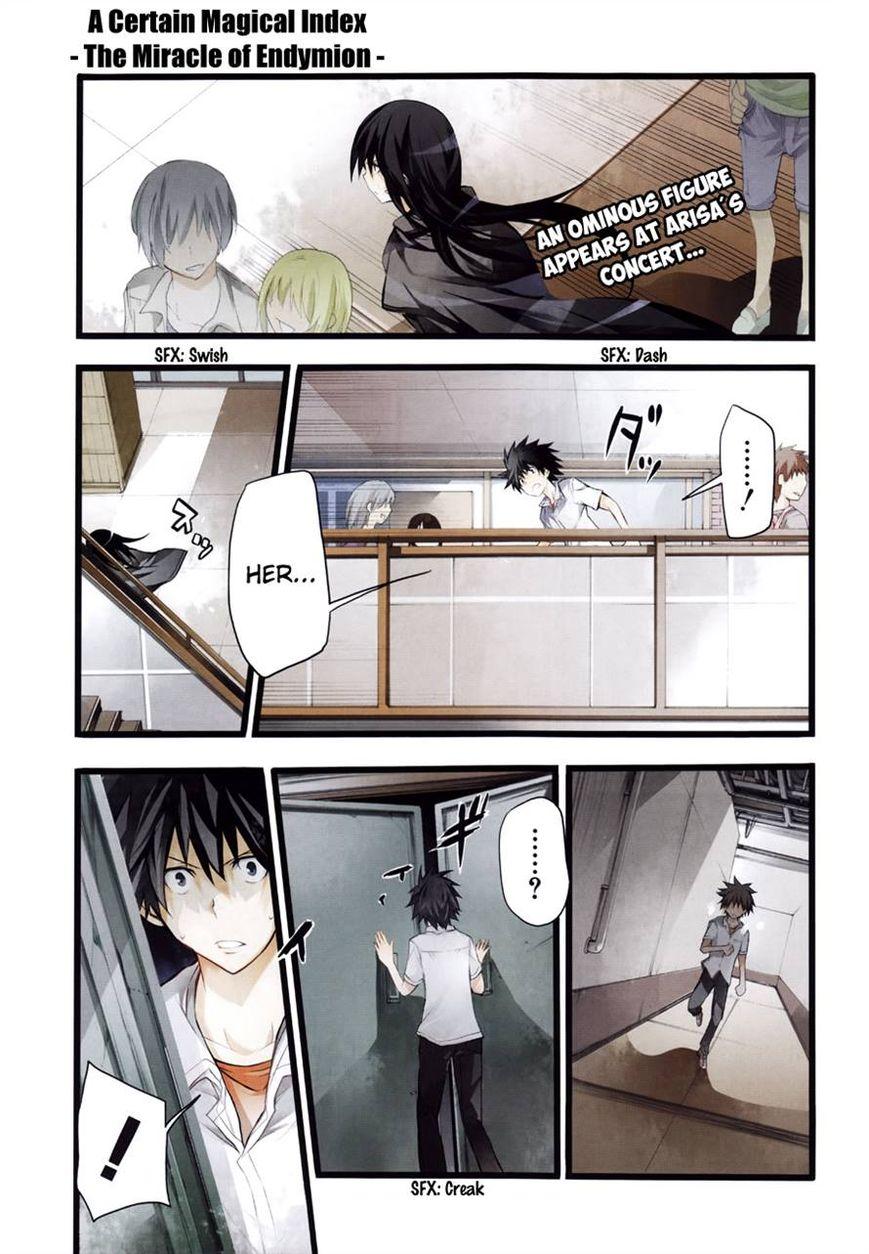 To Aru Majutsu no Kinsho Mokuroku - Endymion no Kiseki 4 Page 2