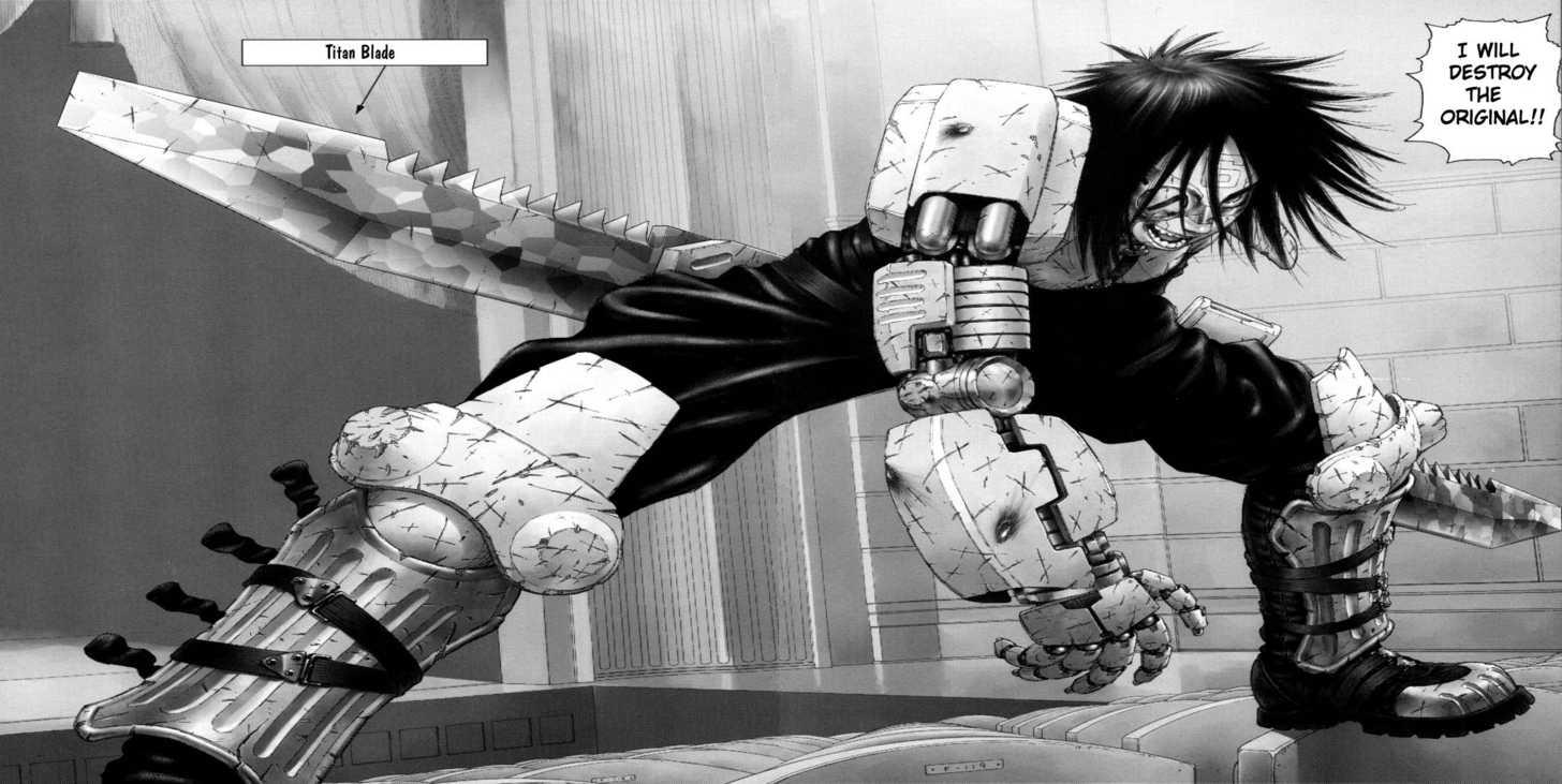 Battle Angel Alita: Last Order 5 Page 2