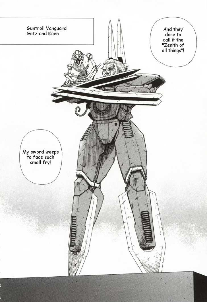 Battle Angel Alita: Last Order 28 Page 4