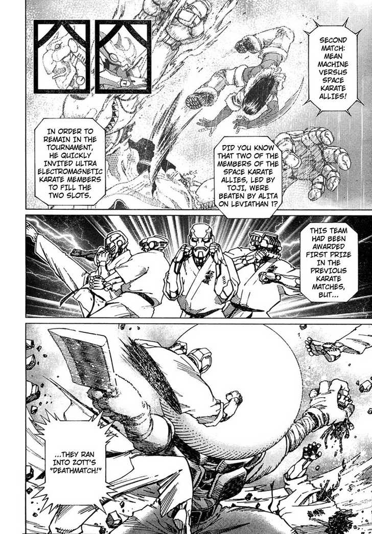Battle Angel Alita: Last Order 57 Page 4