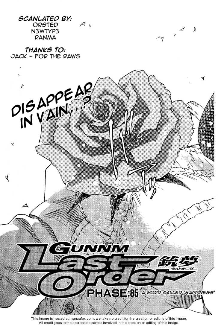 Battle Angel Alita: Last Order 85 Page 3