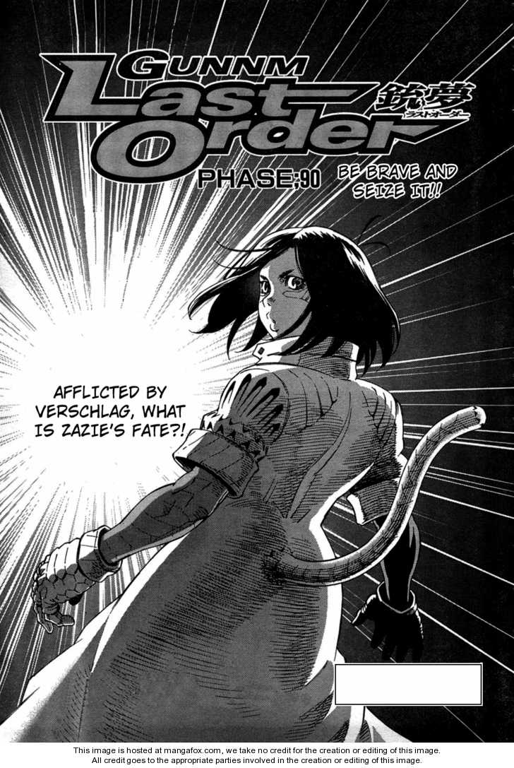 Battle Angel Alita: Last Order 90 Page 1