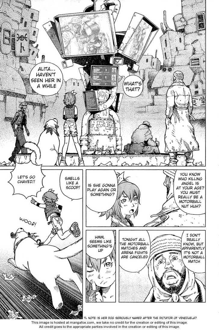Battle Angel Alita: Last Order 92 Page 3