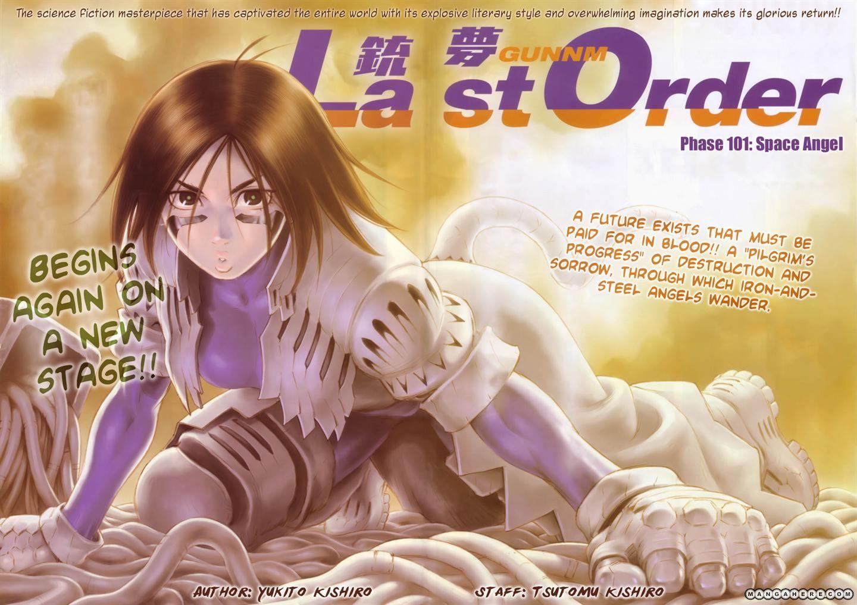 Battle Angel Alita: Last Order 101 Page 3