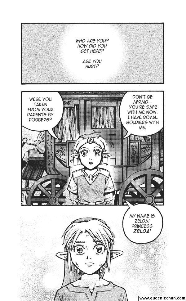 The Legend of Zelda: The Edge and The Light Manga 4.1 Page 2