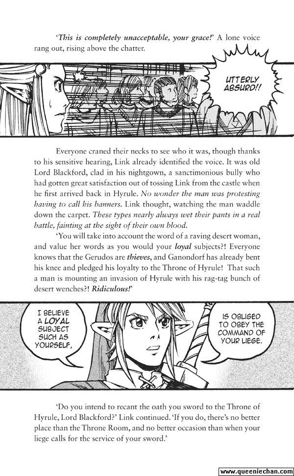 The Legend of Zelda: The Edge and The Light Manga 5.2 Page 1
