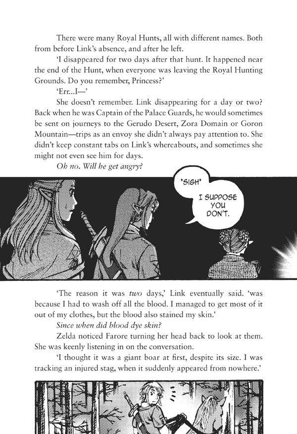 The Legend of Zelda: The Edge and The Light Manga 5.6 Page 1