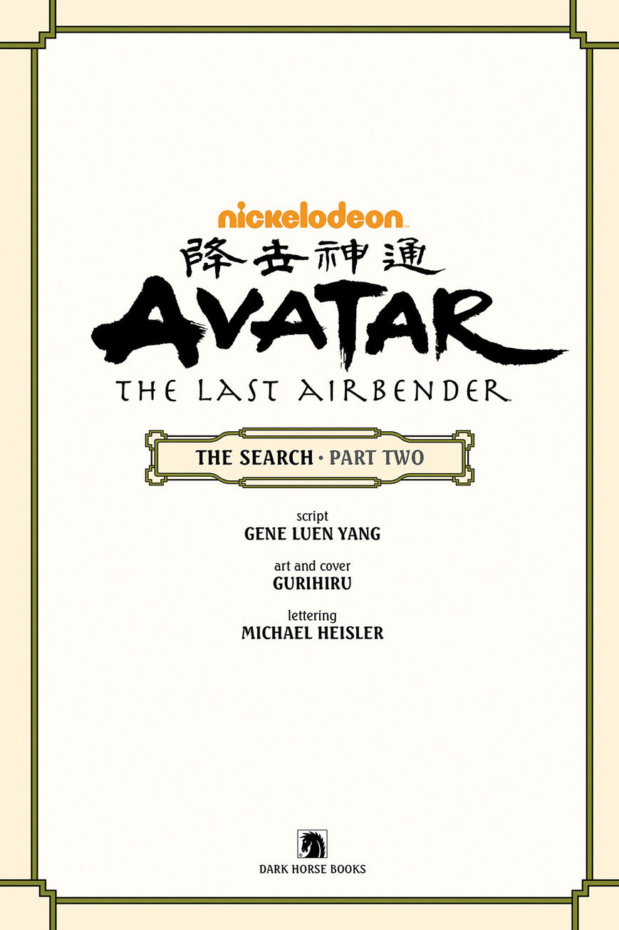 Avatar: The Last Airbender – The Search 2 Page 2