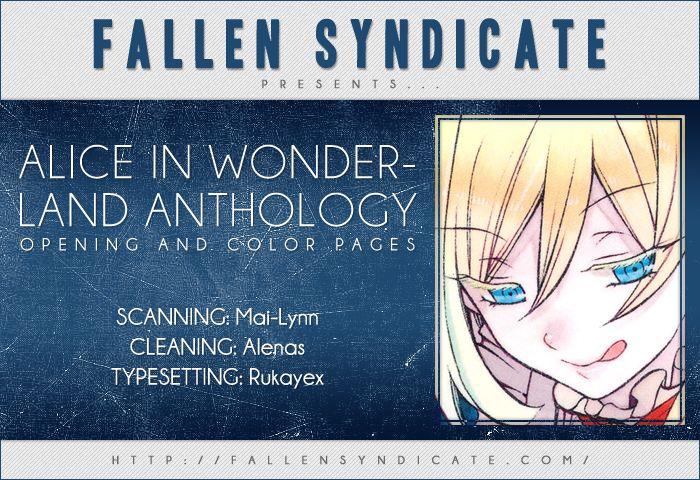 Alice in Wonderland (Anthology) 0 Page 1