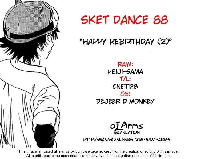 Sket Dance 88 Page 1