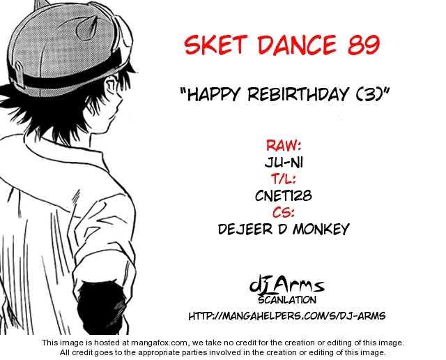 Sket Dance 89 Page 1