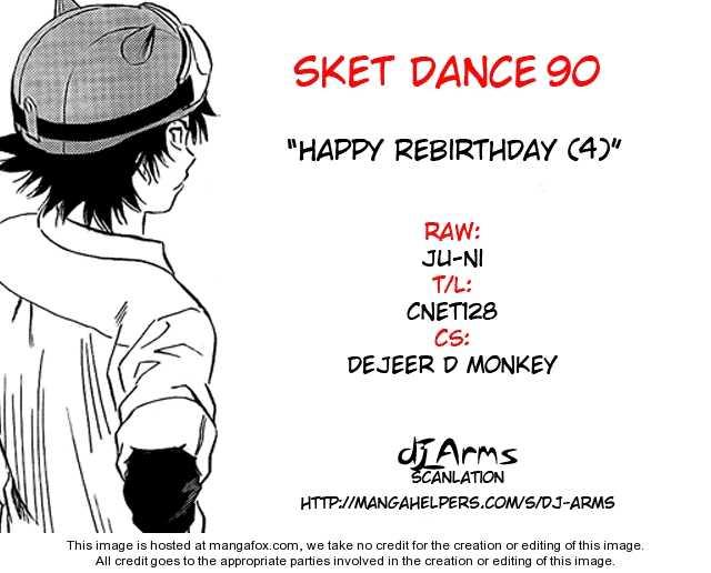 Sket Dance 90 Page 1