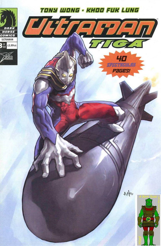 Ultraman Tiga 8 Page 1