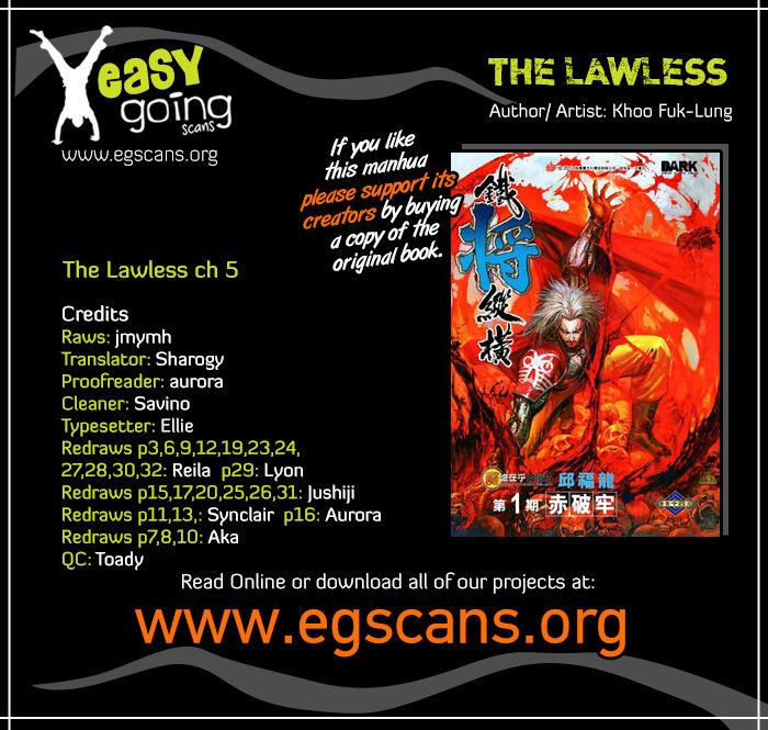The Lawless 5 Page 1