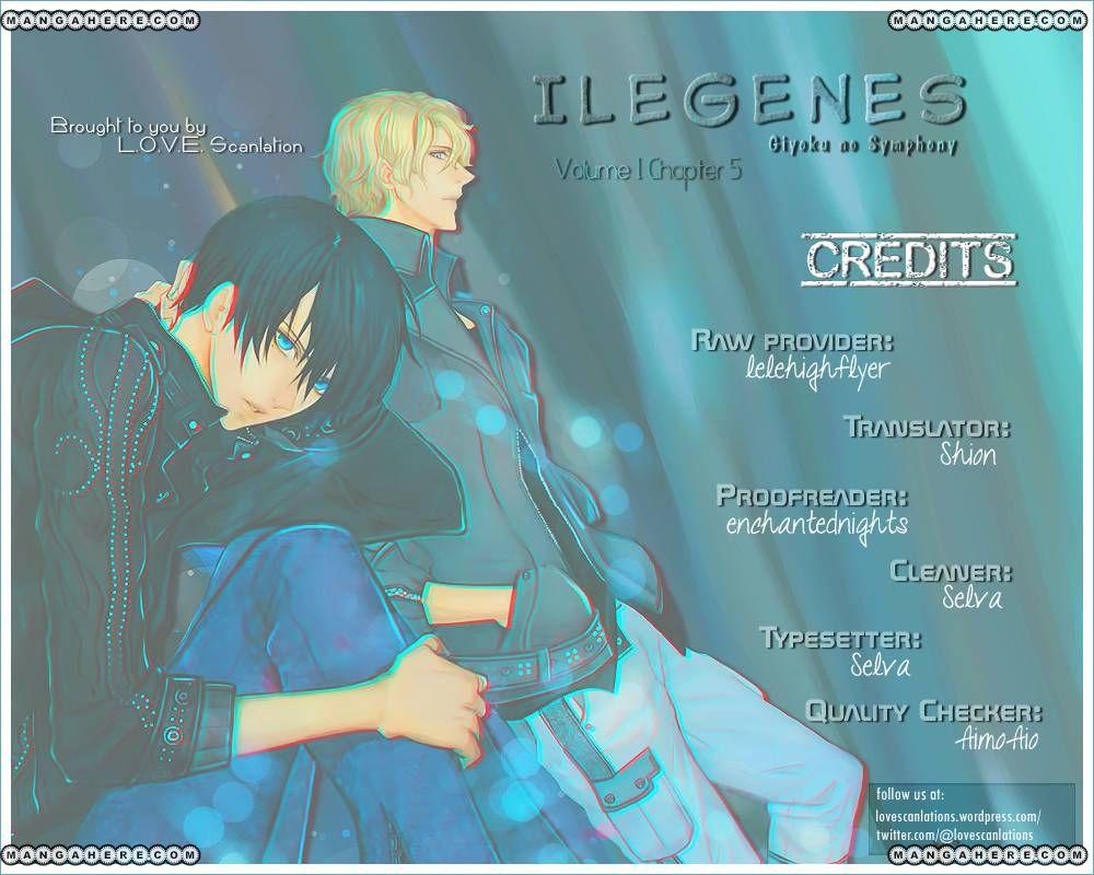 Ilegenes - Giyoku no Koukyoukyoku 5 Page 1