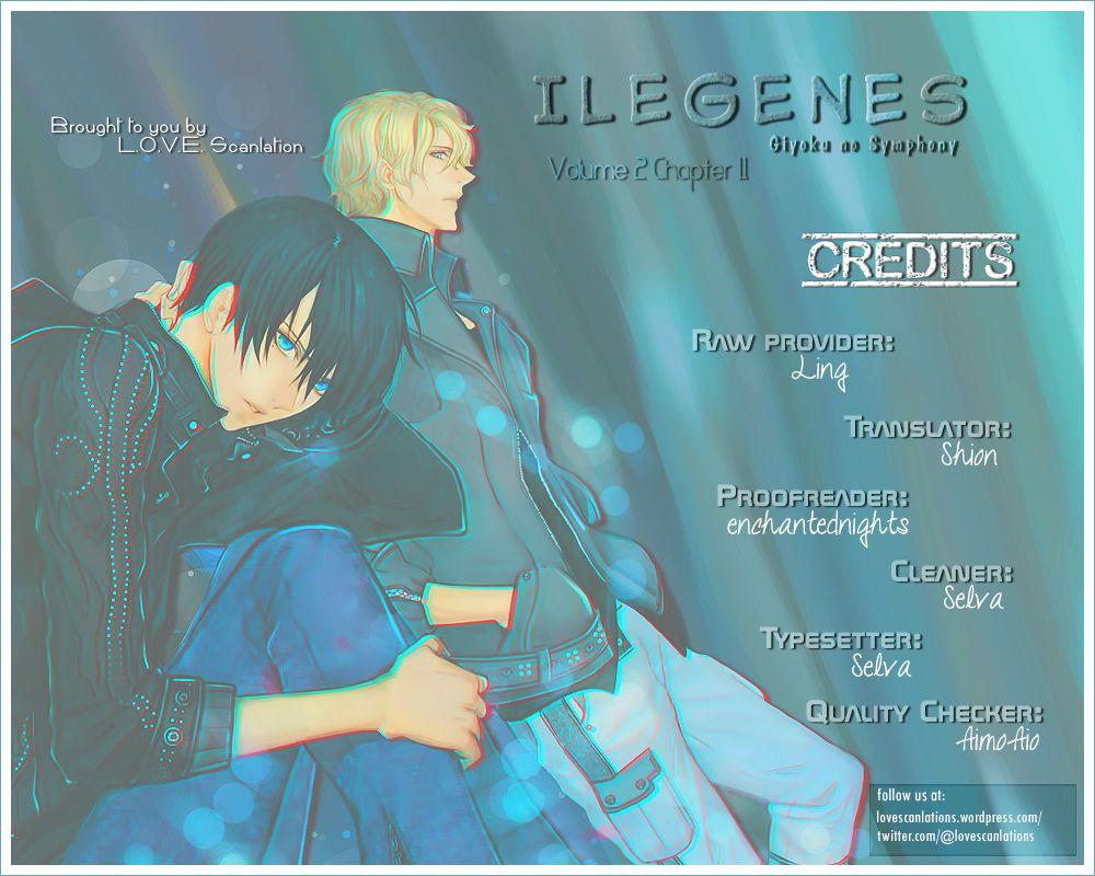 Ilegenes - Giyoku no Koukyoukyoku 11 Page 1